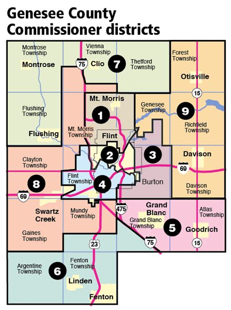 Genesee County Republicans and Democrats approve new map ...