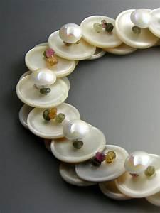 Knöpfe Selber Machen : tourmaline gemstone layered button necklace kn pfe knopf halskette schmuck und halskette ~ Frokenaadalensverden.com Haus und Dekorationen