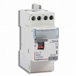 Disjoncteur Différentiel Type A : interrupteur diff rentiel legrand 40a 30ma type ac dx3 ~ Dailycaller-alerts.com Idées de Décoration
