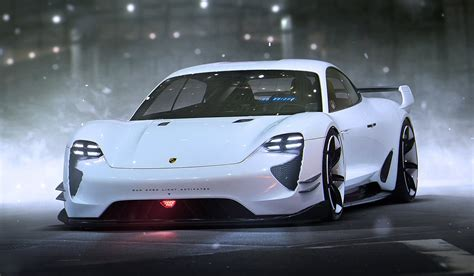 porsche mission e wheels porsche expects mission e all electric sedan to be as
