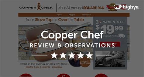 copper chef reviews    stick pan