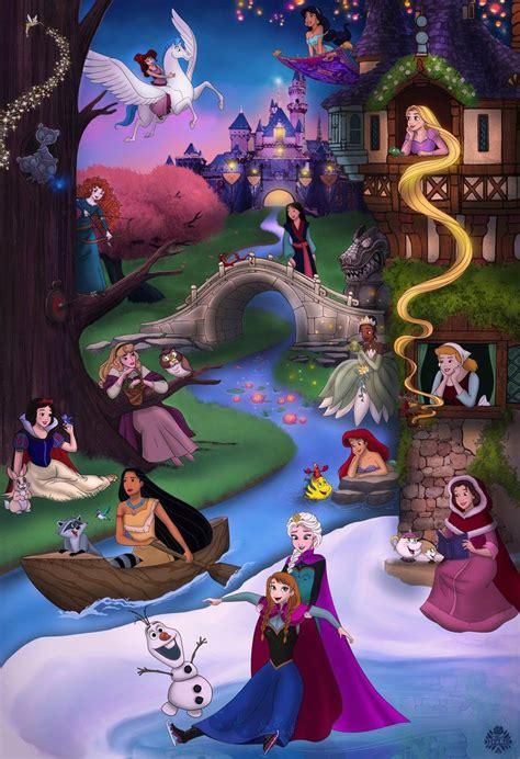 princess collage by miss melis deviantart on deviantart disney disney drawings disney