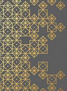 Geometric Gold Art Print | Find fun fabrics for your next ...