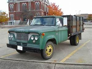 Buy Used Vintage 1961 Dodge 300   1 Ton Truck With Hoist