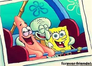 spongebob, patrick star, squidward, friends, smile - image ...