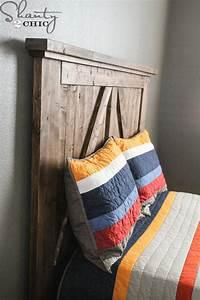 diy barn door headboard shanty 2 chic With barn doors for headboard