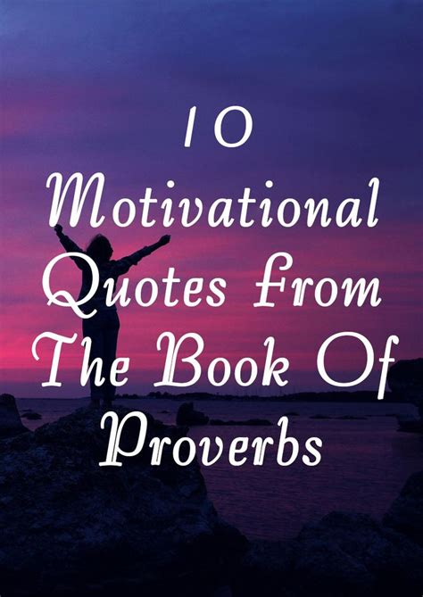 motivational quotes   book  proverbs
