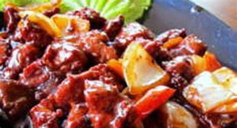 300 g daging sapi, iris 1/2 cm. Resep Sapi Lada Hitam - Buku Resep Online | Cooking recipes, Recipes, Cooking