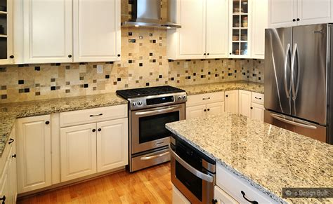 Venetian Gold Backsplash : Travertine Backsplash With New Venetian Gold