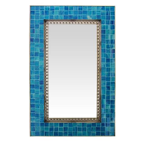 mirror glass tile talavera tile mirrors collection glass tile mirrorw blue glass tiles tmir360
