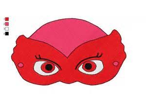 PJ Embroidery Design Masks