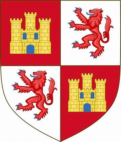 Arms Heraldry Svg Castille English Castile York