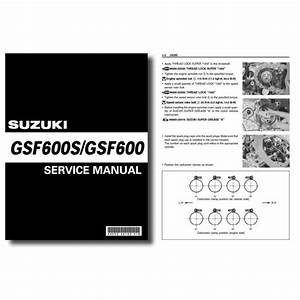 Suzuki Gsf600 Bandit Workshop Service Manual Gsf600s Gsf