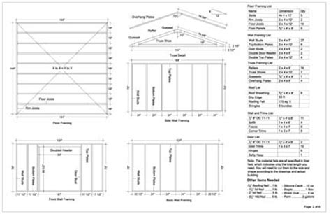 Free 12x12 Shed Plans by Sheds Ottors 6 X 12 Shed Plans Free Info