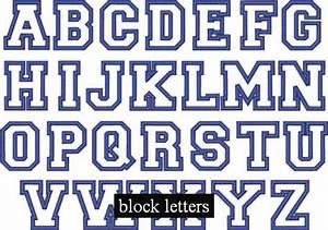 best 28 cool block letters alphabet letter best 25 With english block letters