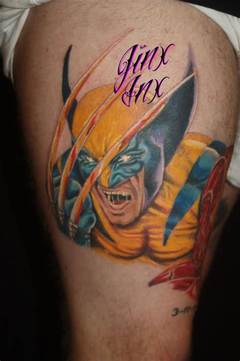 latest wolverine tattoo designs