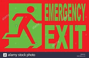 Emergency Exit Drawing Stock Photos  U0026 Emergency Exit