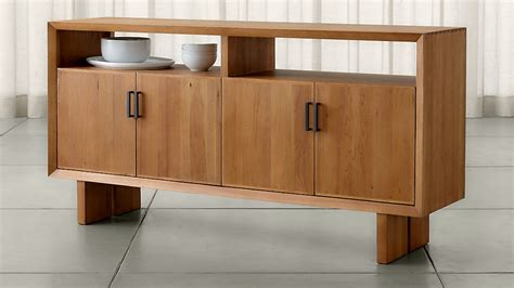 Crate And Barrel Sideboard by Monarch Solid Walnut Large Sideboard Crate And