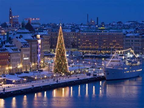 easy escapes christmas  stockholm sweden