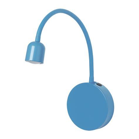 bl 197 vik led wall l battery operated blue ikea