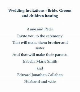wedding free suggested wording by theme geographics 2 With wedding invitation wording child hosting