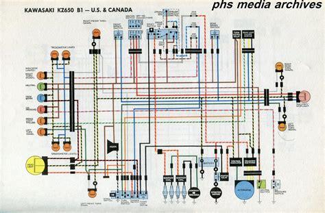 1978 kawasaki kz1000 wiring diagram free wiring