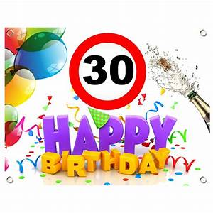 Pappteller 30 Geburtstag : pvc geburtstagsbanner 30 geburtstag geburtstagslaken geburtstagsschild geburtstagswegweiser ~ Markanthonyermac.com Haus und Dekorationen
