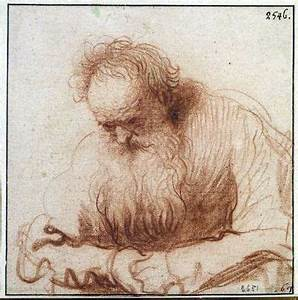 Rembrandt, a bit more than a gesture drawing but holding ...