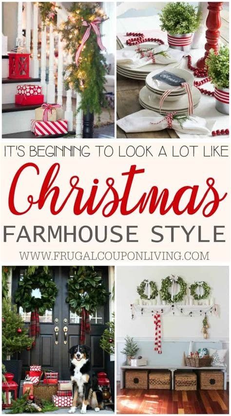 inspiring farmhouse christmas decor   winter season