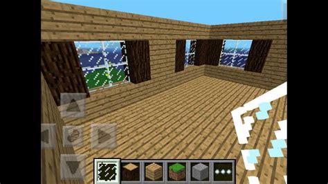 build  medium sized house  minecraft pe youtube