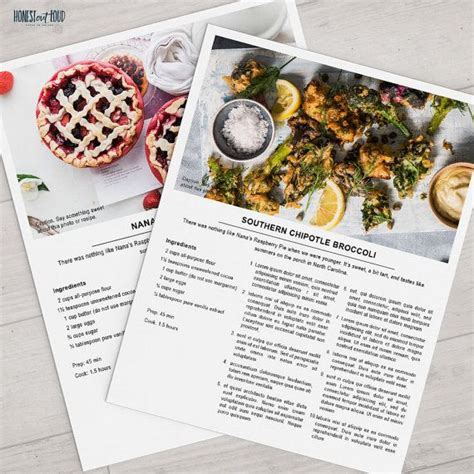 images  recipe book template microsoft publisher
