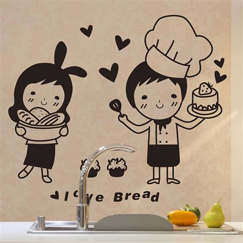 cuisine stickers wall sticker picture more detailed picture about chefs