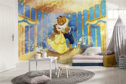 Beast Beauty Wall Mural Disney Bedroom Murals