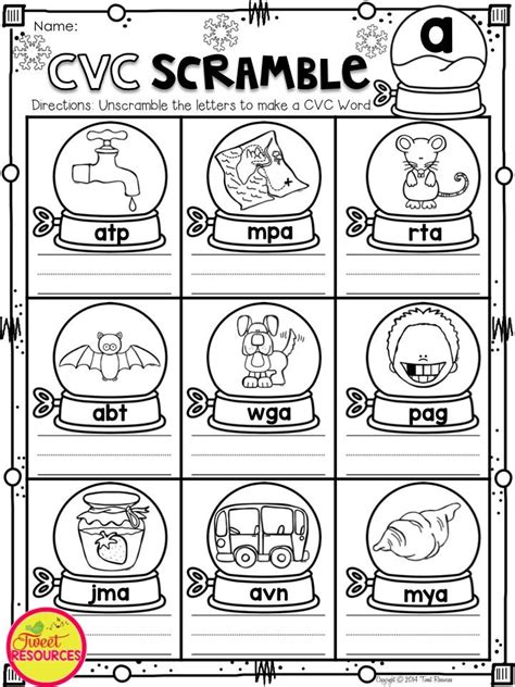 winter activities  kindergarten math literacy  prep
