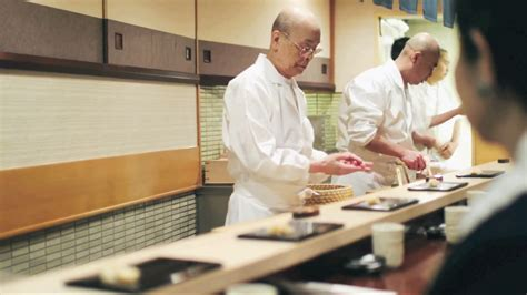 reportage cuisine japonaise les sushis de maître jiro vidéo reportage