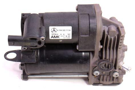 air compressor suspension pump mercedes genuine