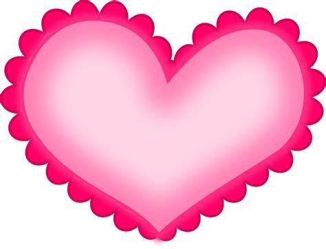 hot pink heart png hd png mart