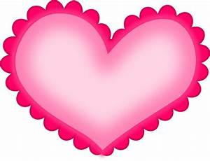 Hot Pink Heart Clipart - ClipArt Best
