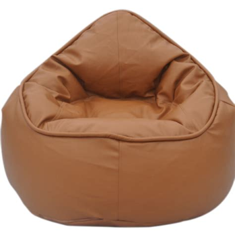zen bean bag chair white