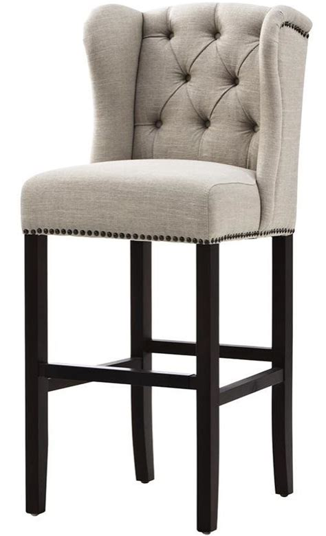 Upholstered Stools For Living Room by Best 25 Upholstered Bar Stools Ideas On Wood