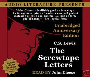 abookcslewisthescrewtapelettersjohncleesereads With cs lewis screwtape letters audiobook