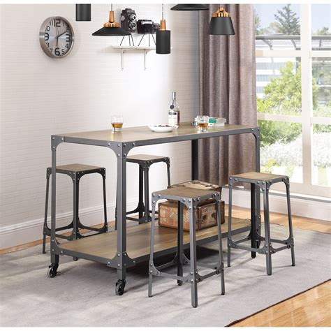 kitchen island tables with stools kitchen island with stools 102998 dox furniture 8228