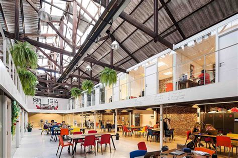 sinergia cowork palermo adaptive reuse   industrial