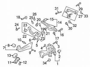 2016 Audi Q3 Eccentric Screw  Eccenter Screw  Fwd