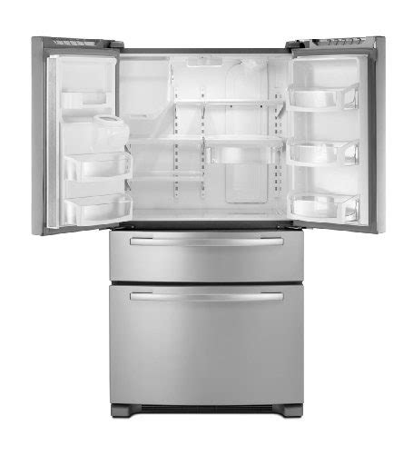 refrigerator whirlpool cu stainless ft steel french door