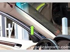 BMW E46 APillar Trim Replacement BMW 325i 20012005