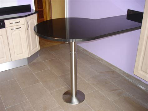 table cuisine noir plan de travail table cuisine best plan de travail table
