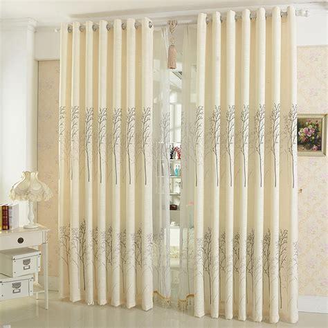 1piece readymade cotton linen curtains panels lau