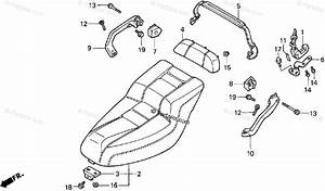 Honda Scooter 1993 Oem Parts Diagram For Seat