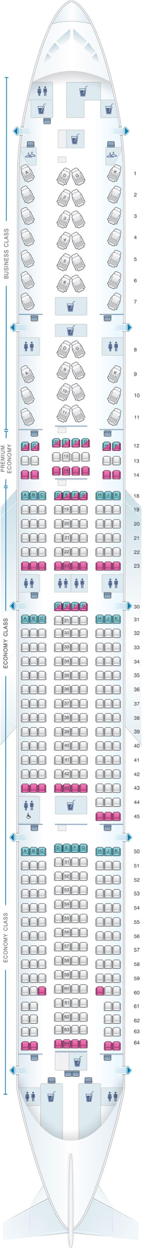 plan siege boeing 777 300er plan de cabine air canada boeing b777 300er 77w